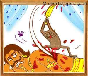 the-king-and-the-foolish-monkey-panchatantra-tales-image2