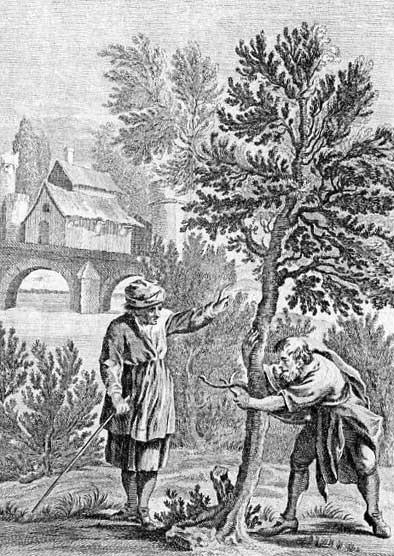Jean de La Fontaine Fables - Book 12 - Fable 20