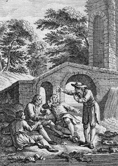 Jean de La Fontaine Fables - Book 10 - Fable 16