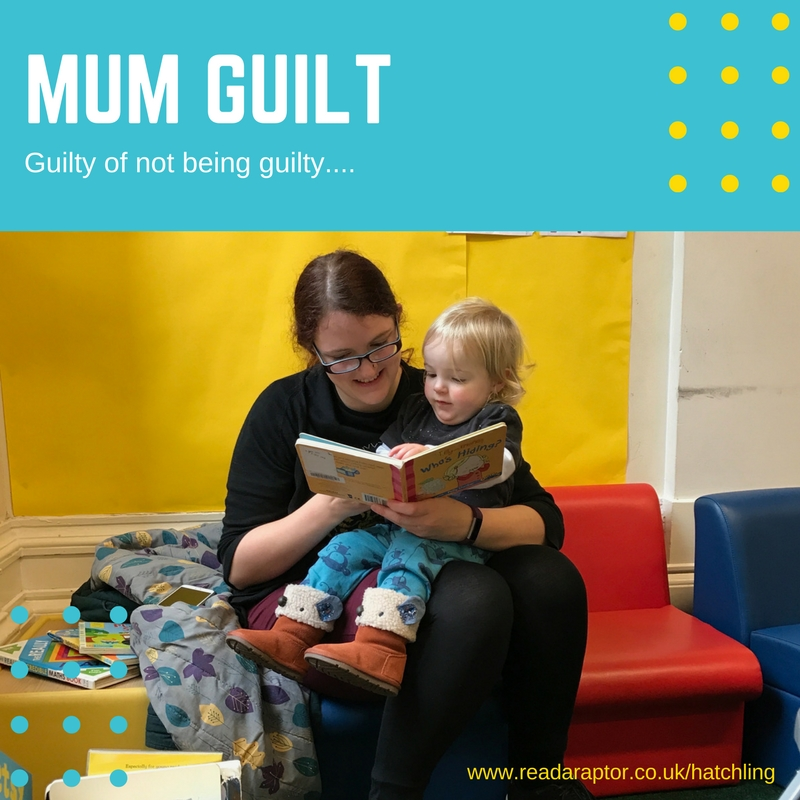 Mum-Guilt-and-my-mummy-relationship-with-Spike-readaraptor-hatchling