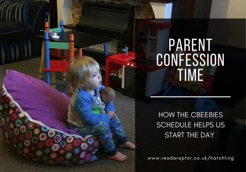 Confession: how the Cbeebies schedule helps us start the day