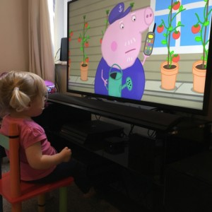 Peppa Pig frequents the screen in our house thanks to on demand streaming services like Netflix