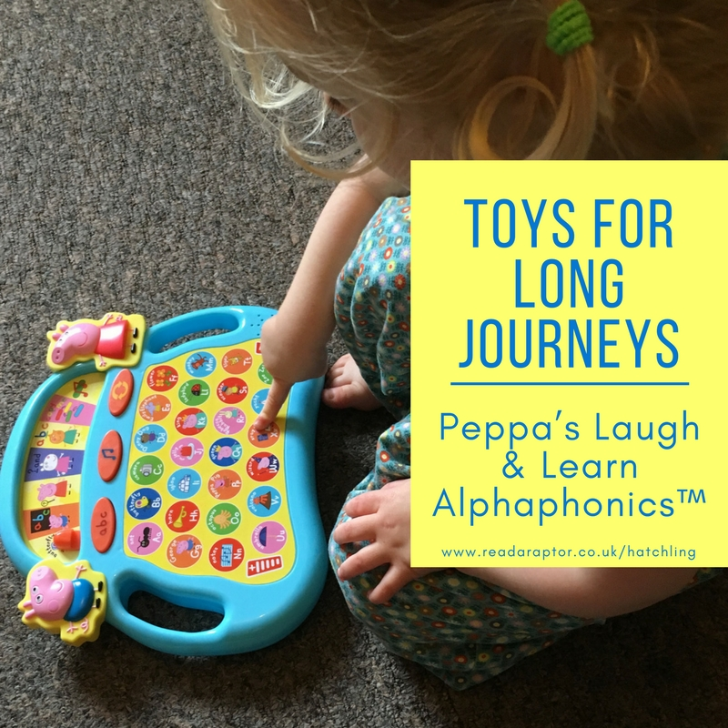 Peppa's laugh & Learn Alphaphonics toy review featured image