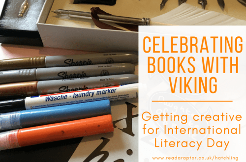 Creative goodies sent to me from Viking Direct for Celebrating International Literacy Day