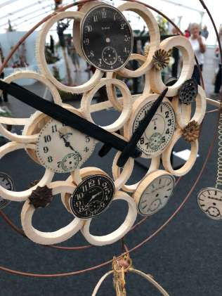 Can you tell the time? This beautiful floral display from Southport Flower Show was in the tick tock section