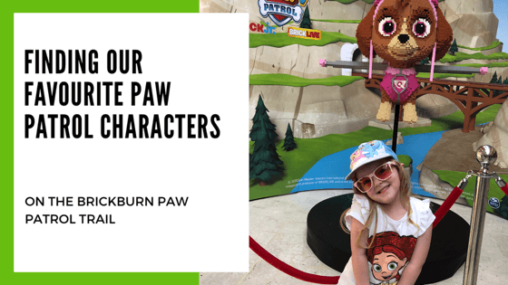 Find our favourite Paw Patrol Character in the Brickburn Trail