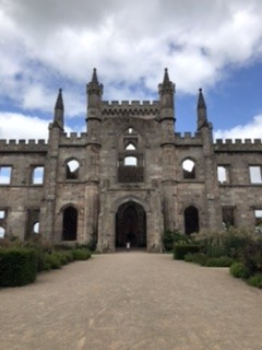 Lowther Castle in all its glory, with a very small Spike