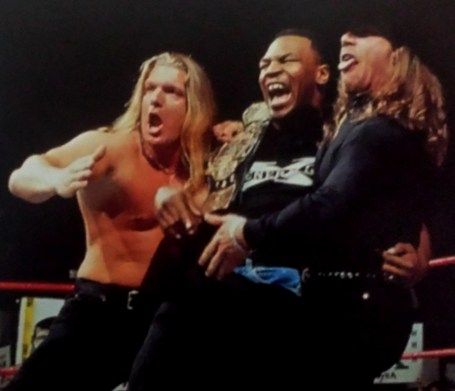 Triple-H, Mike Tyson & Shawn