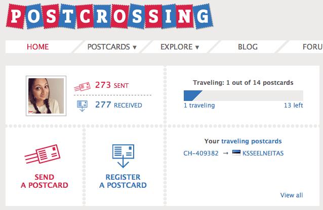 Postcrossing - die tolle Art Hallo zu sagen!