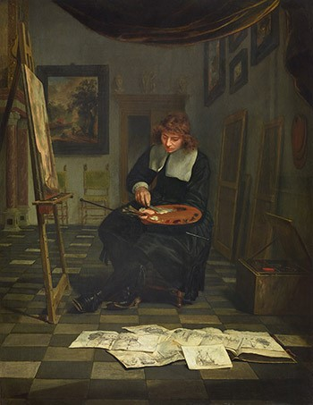 van-musscher-artist-in-his-studio