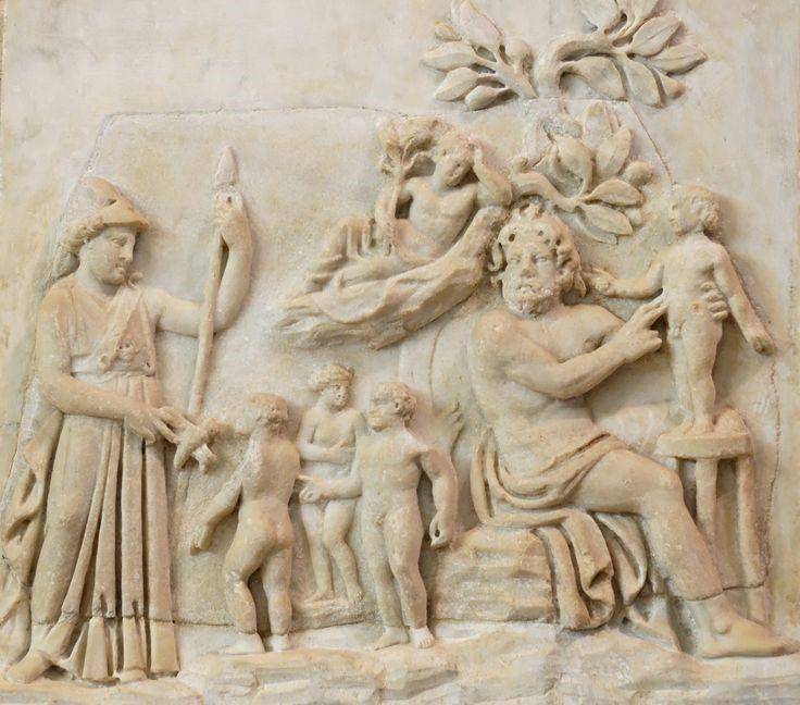 Greek Prometheus Relief