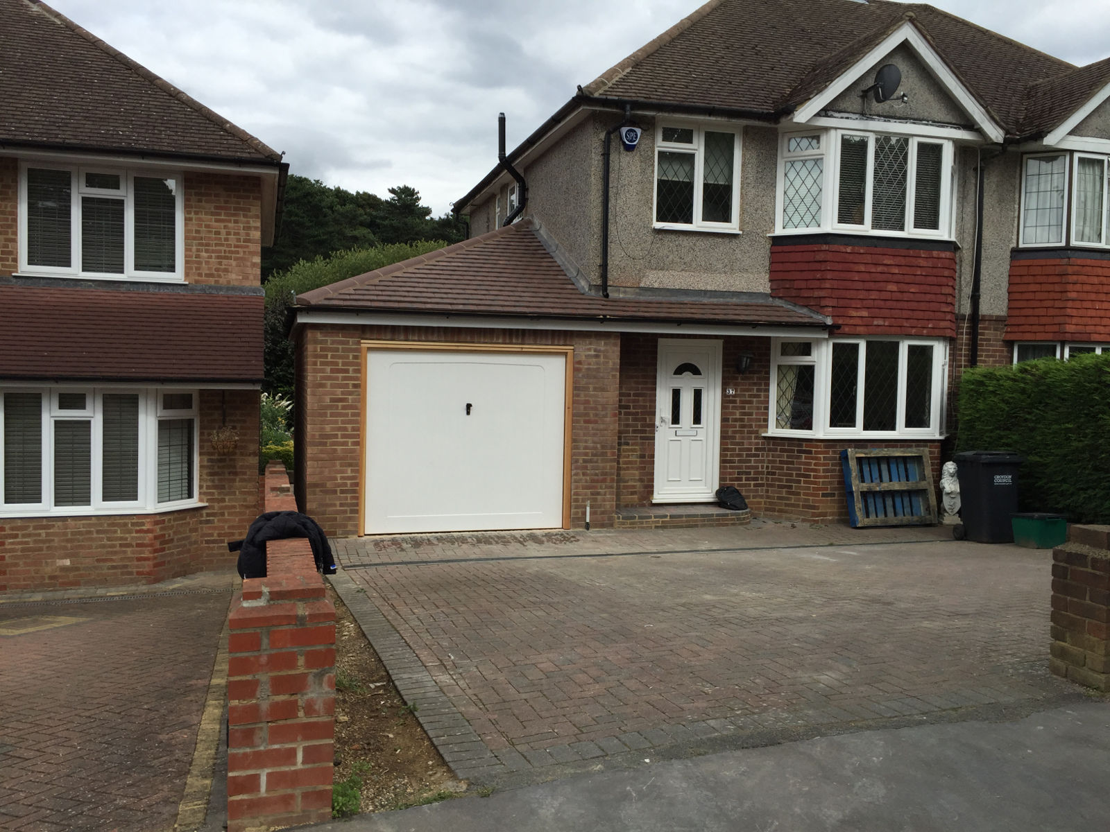 single storey side extension,