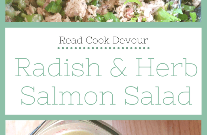 Radish and Herb Salmon Salad