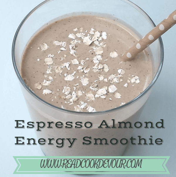 Espresso Almond Energy Smoothie