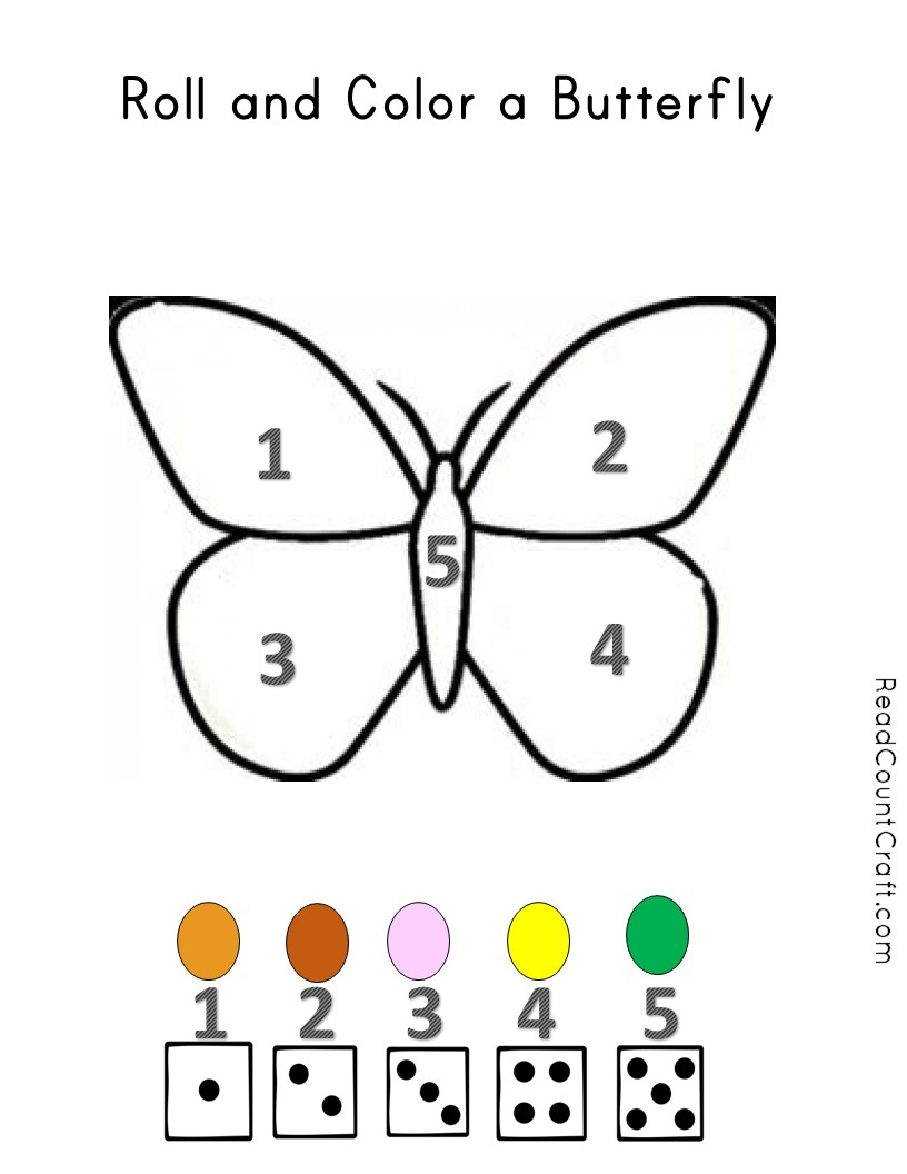 The Very Impatient Caterpillar and Butterfly Number Sense