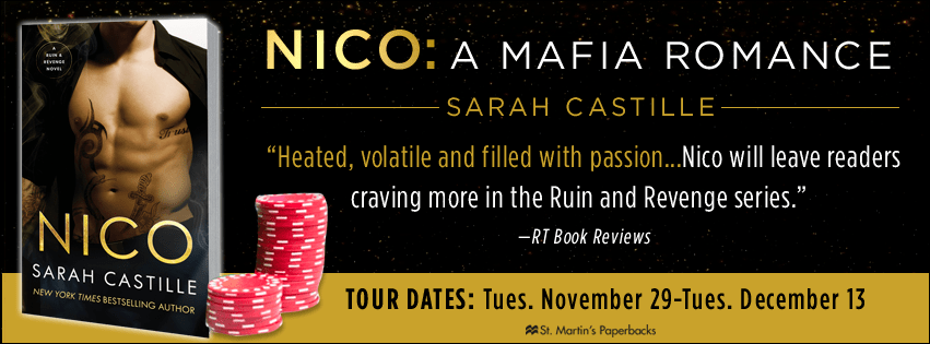 Blog Tour: Excerpt:  Nico by Sarah Castille