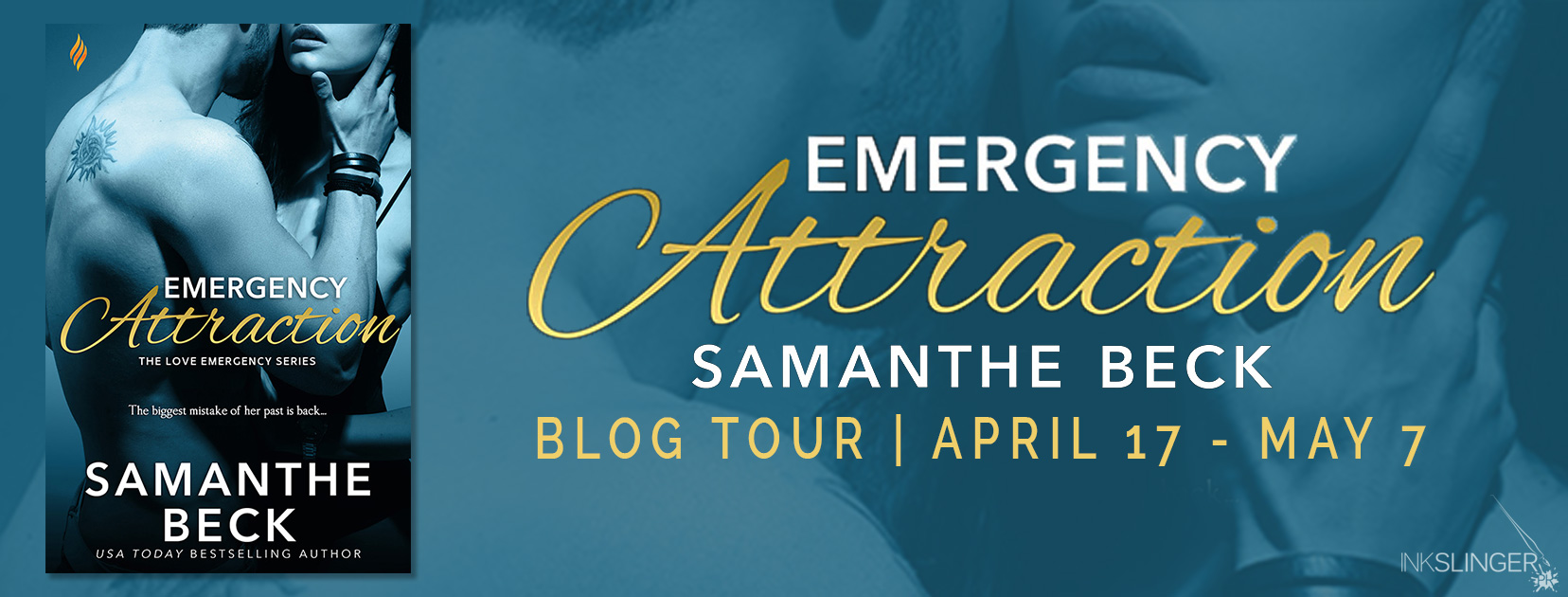 Blog Tour:  Emergency Attraction (Love Emergency #3) by Samanthe Beck  -  {Excerpt/Review + Giveaway}