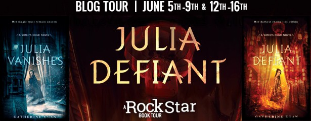 Blog Tour:  Julia Defiant by Catherine Egan  -  {Review + Giveaway}