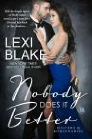Cover Reveal  –  Nobody Does it Better by Lexi Blake  – {Releases, February 20, 2018}