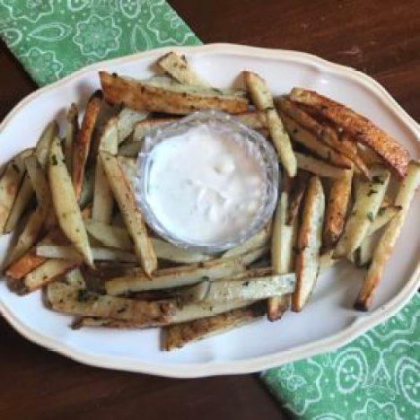Savory Seasoned Baked Fries