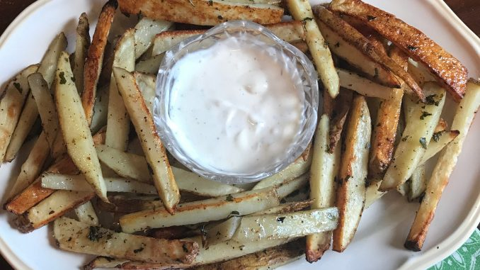 Savory Seasoned Baked Fries