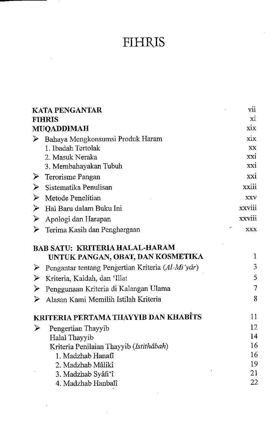 Kriteria Makanan Halal Dan Haram : kriteria, makanan, halal, haram, Kriteria, Halal, Haram, Document]