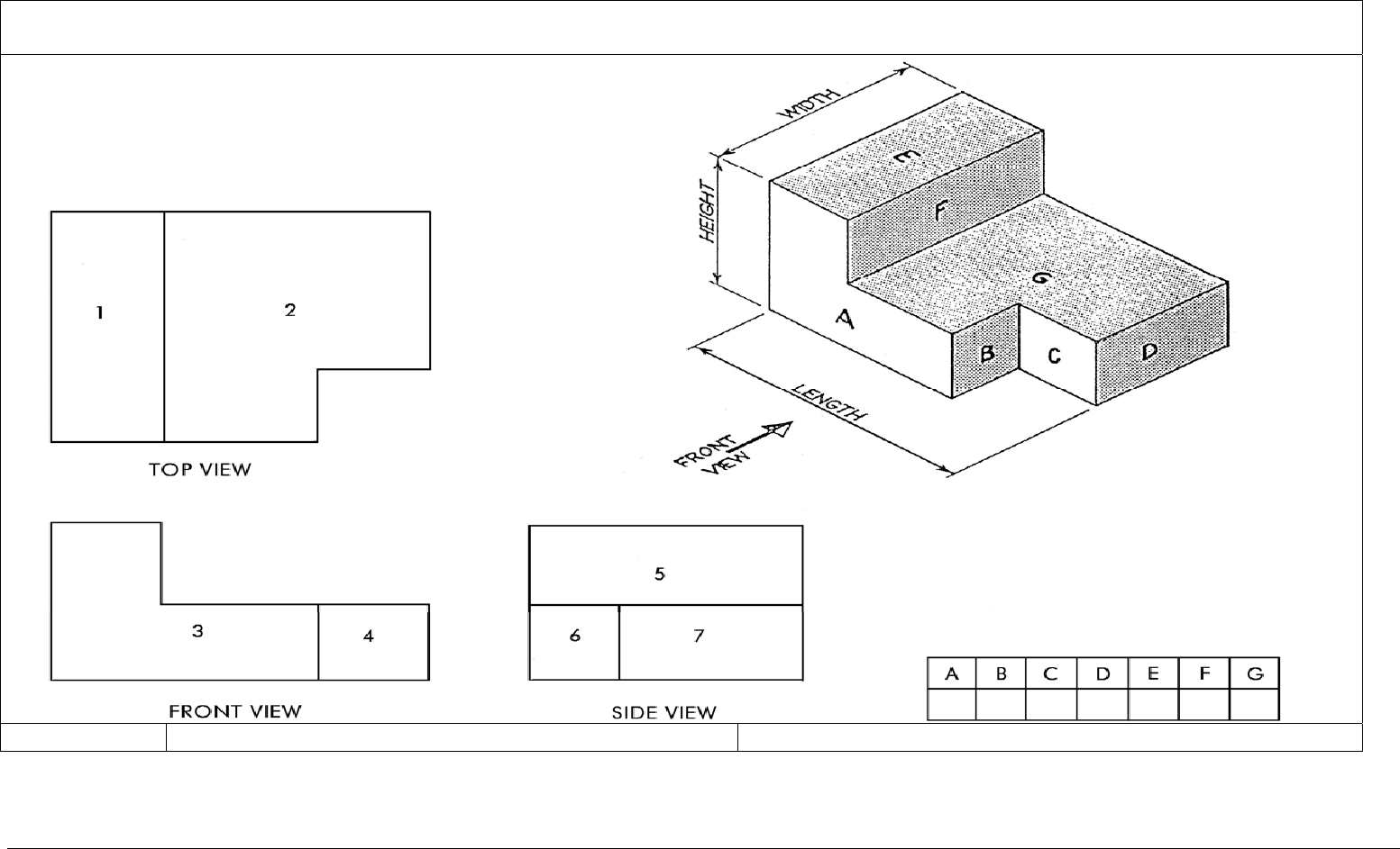 Isometric Drawing Isometric Projection And Isometric