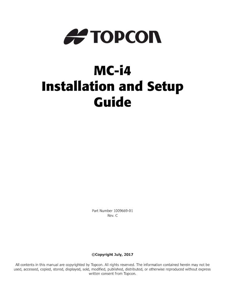 MC-i4 GNSS Receiver Installation and Setup Guide