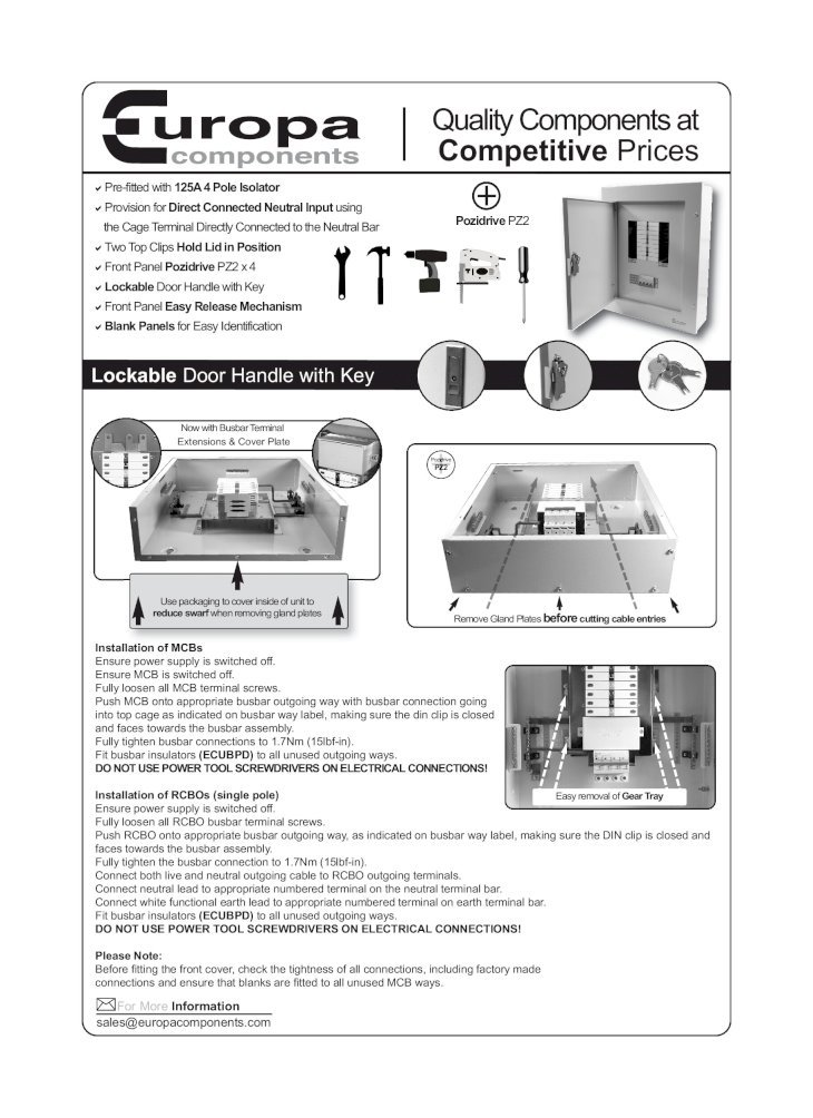 Important Information Electrical Installations (IEE Wiring