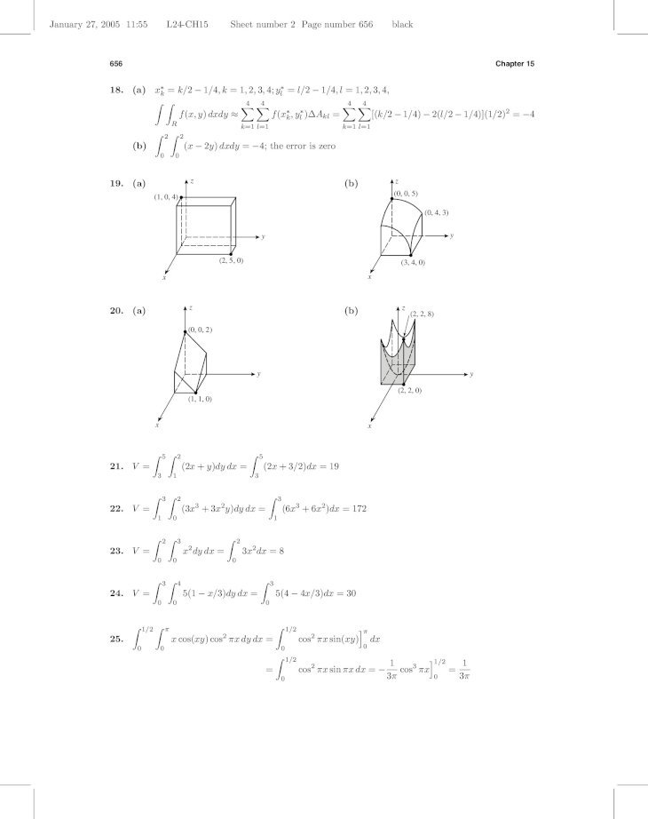 Calculus Early Transcendentals 8th Edition Solution Manual
