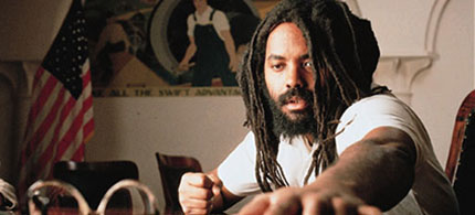 Mumia Abu-Jamal. (photo: First Run Features)