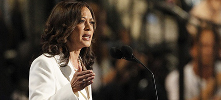 Kamala Harris. (photo: Jonathan Ernst/Reuters)