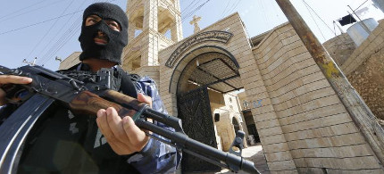 Iraqi security personal. (photo: Reuters)