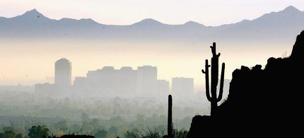 Phoenix skyline. (photo: Deirdre Hamill)