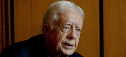 President Jimmy Carter. (photo: Pete Muller/AP)