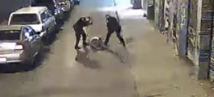 Two Alameda County Sheriff Deputies Caught On Camera Beating Man Excessively. (photo: YouTube)
