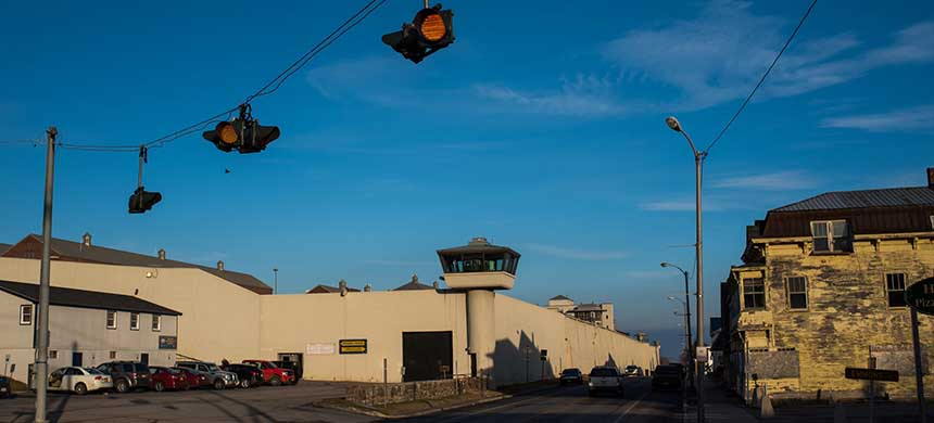 The high-profile escape of two murderers from Clinton Correctional Facility in June attracted extraordinary attention to the maximum-security prison. (photo: Jacob Hannah/NYT)