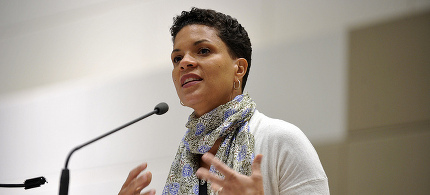 Professor Michelle Alexander. (photo: Hampshire College)