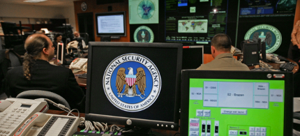 NSA computers. (photo: Paul J. Richards/Getty Images)