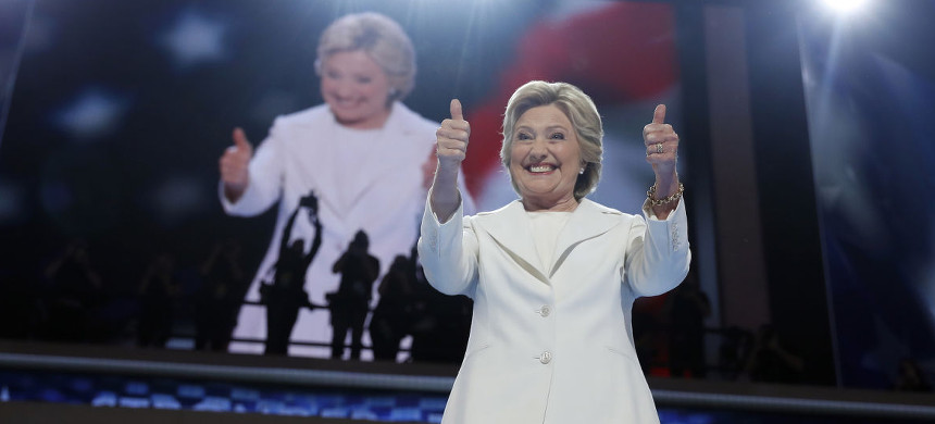 Hillary Clinton. (photo: Carolyn Kaster/AP)