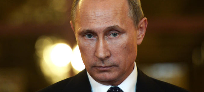 Russian president Vladimir Putin. (photo: Alexnei Nikolosky/Getty)