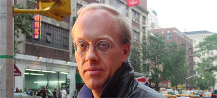 Chris Hedges. (photo: Truthdig)