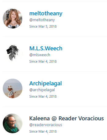 My first blog followers on WordPress!