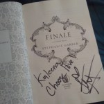 signed copy of Finale: Kaleena, choose love!