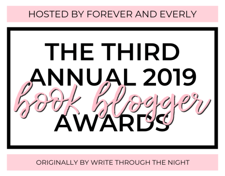 2019 Book Blogger Awards hosted by Forever and Everly