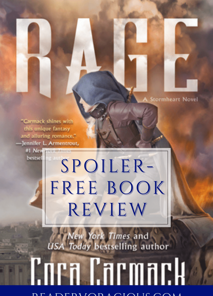 Rage (Stormheart #2) by Cora Carmack