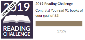 2019 Reading Challenge Results