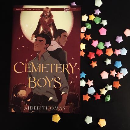 Photo of an ARC for Cemetery Boys