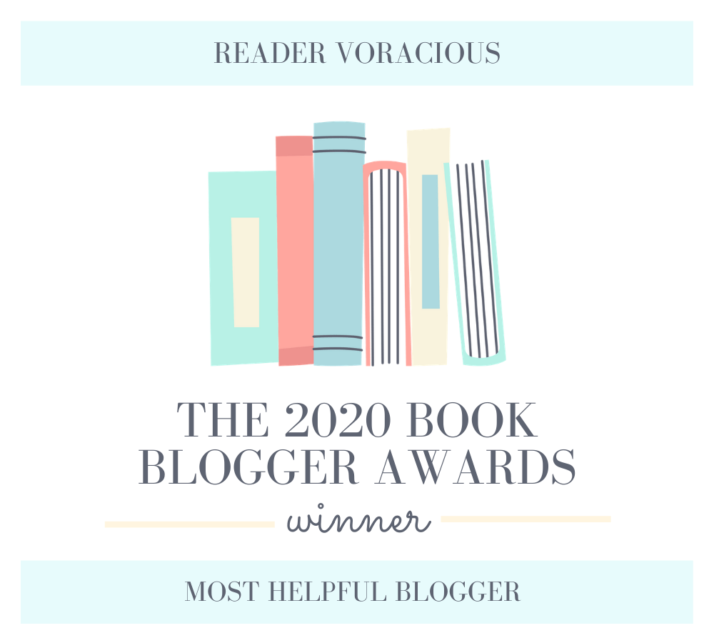 2020 Book Blogger Award for Most Helpful