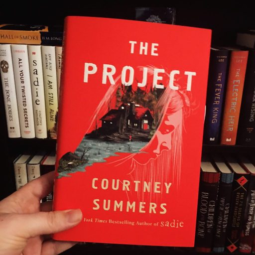 Barnes and Noble special edition of The Project by Courtney Summers